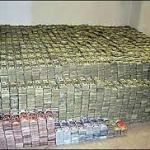 lots of money, 45 million